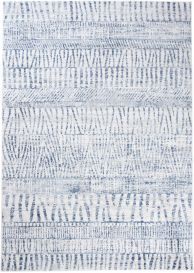 Sky Modern Contemporary Abstract Stripes Multicolour Blue