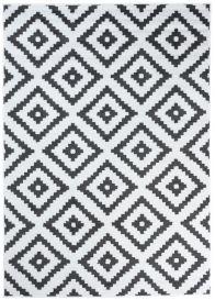 LUXURY Vloerkleed Wit Geometrisch Design Interieur Sfeervol