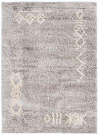 VERSAY Vloerkleed Grijs Aztec Shaggy Boho Design Woonsfeer Design