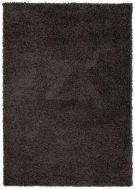 ESSENCE Tapis Moderne Monochrome Anthracite Poil Longue Shaggy