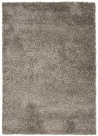 ESSENCE Tapis Moderne Monochrome Gris Foncé Poil Longue Shaggy