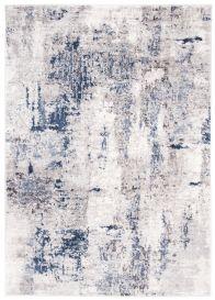 SKY Teppich Kurzflor Modern Beige Blau Grau Hellgrau Vintage Meliert