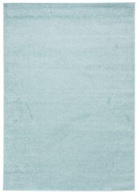 FLORIDA Teppich Kurzflor Türkis Hellblau Einfarbig Modern