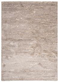 HAVANA Teppich Modern Verwischt Elfenbein Beige Creme Grau Silber