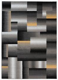 Maya Vloerkleed Grijs Creme Abstract Geometrisch Woonsfeer Design